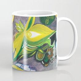 Waterlily Masquerade Coffee Mug