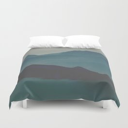 Blue valley Duvet Cover