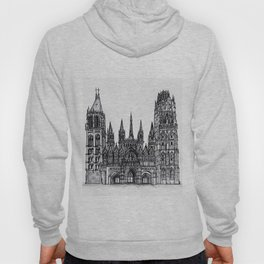 Rouen Cathedral Hoody