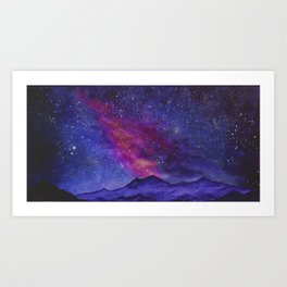 We Are The Infinite, Cosmic Series Art Print