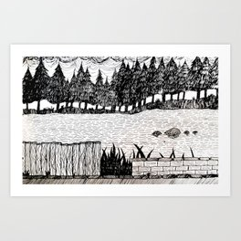 L01 Art Print