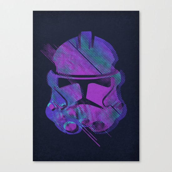 Splash Trooper Canvas Print