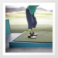 Golf Swing Art Print