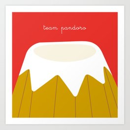 Christmas Series: Team Pandoro Art Print