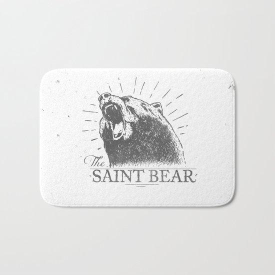 The Saint Bear Bath Mat