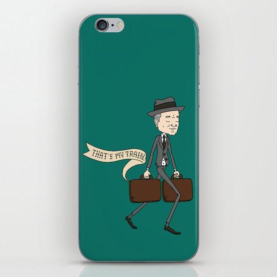 The Businessman iPhone & iPod Skin
