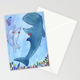 Whale Concert Stationery Cards