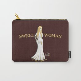 Sweet woman Carry-All Pouch