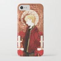 kieren walker iPhone & iPod Cases featuring kieren by suto