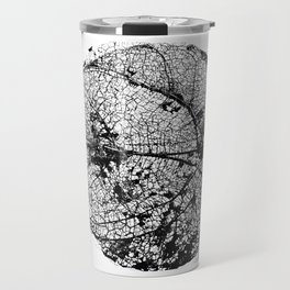 Skeleton Leaf Travel Mug