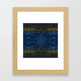 Cactus Dream Reflection Framed Art Print