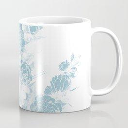 Blue Flora Coffee Mug