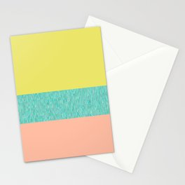 Yellow-Pink Stationery Cards