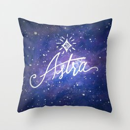 Ad Astra Throw Pillow
