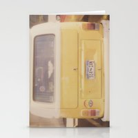 vw bus Stationery Cards featuring VW Bus by Kristine Ridley