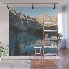 Moraine Lake Mountain Views Wall Mural