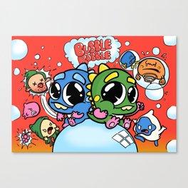 Remade: Bubble Bobble Canvas Print