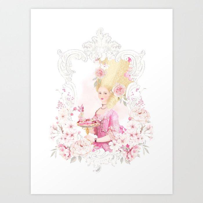 Marie Antoinette Paris in Spring Art Print