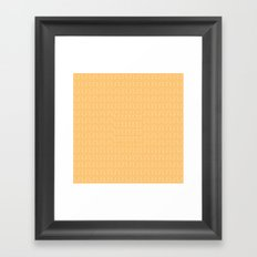 Sweet Mango Framed Art Print