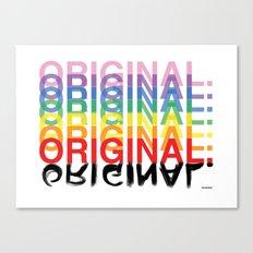 Original. Canvas Print