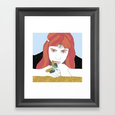 GRIMES GOLD Framed Art Print