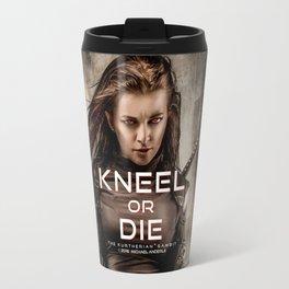 Kneel Or Die Travel Mug