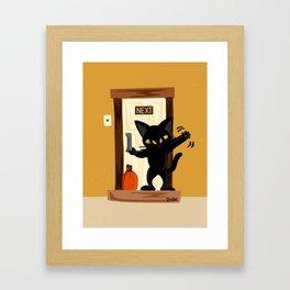 Good-bye Framed Art Print