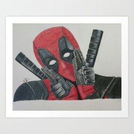 He is not a hero.  Art Print