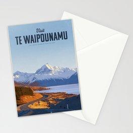 Visit Te Waipounamu Stationery Cards