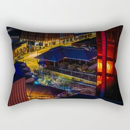 Atlanta Night Lights Rectangular Pillow