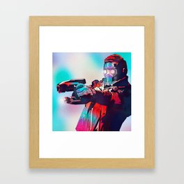 Star Lord, Guardians of the Galaxy, TheAvengers Framed Art Print