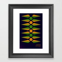 Rotational Symmetry Framed Art Print