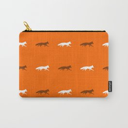Orange Foxes! Carry-All Pouch