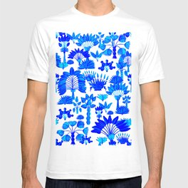 Exotic Garden - Blue T-shirt