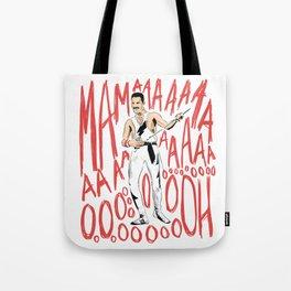 Freddie Bohemian Rhapsody Queen Tote Bag