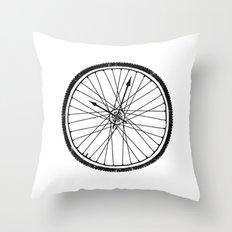 Bike Time Throw Pillow