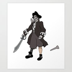 Pirate Prosthetics Art Print
