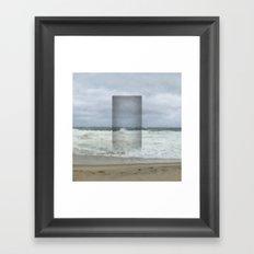 The Seaward Door (Square) Framed Art Print