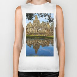 Angkor Thom Temple Cambodia Biker Tank
