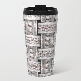 Zentangle®-Inspired Art - ZIA 48 Metal Travel Mug