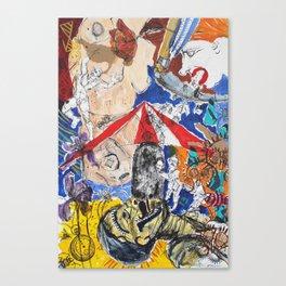 Side-Splitting Canvas Print
