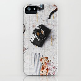 My Travels (Color) iPhone Case