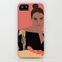 PASTA LADY iPhone Case