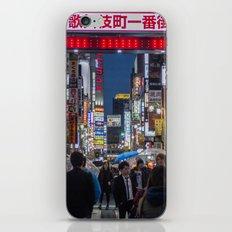 Tokyo Streets iPhone Skin