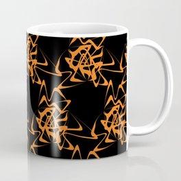 Manipulation 2 - Orange on Black Coffee Mug