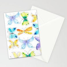 Breezy Butterflies Stationery Cards
