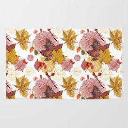 Autumn pattern 2 Rug