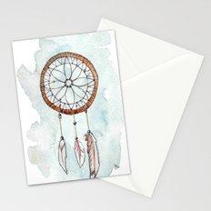 Brunette Dreamcatcher Stationery Cards