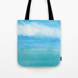 Blue Drift Sky Tote Bag