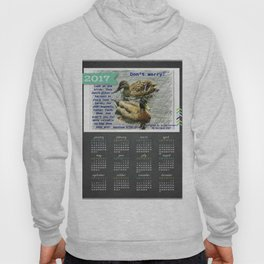 Don't worry, God cares for the birds, bible verses, 2017 Calendar Hoody